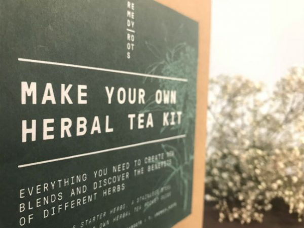 make your own herbal tea gift set