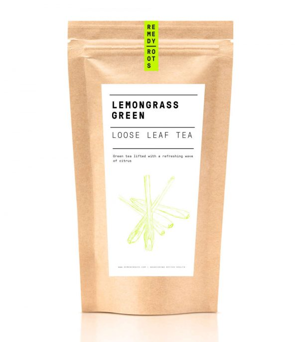 Lemongrass Green Tea Pouch - 50g