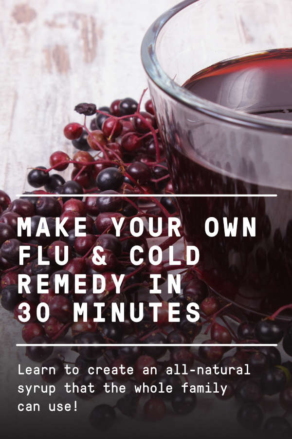 make your own flu and cold remedy
