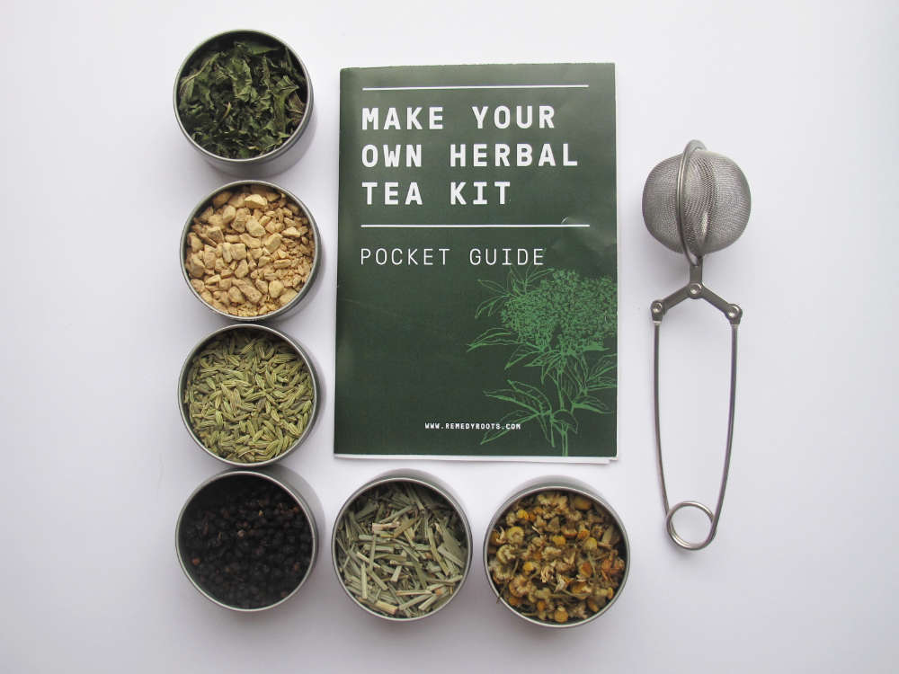 Make Your Own Herbal Tea Blend Guide - Remedy Roots