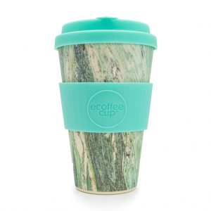 Marmo Verde 14oz Bamboo Travel Mug
