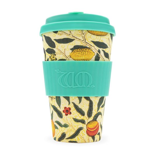 William Morris Pomme 14oz Bamboo Travel Mug