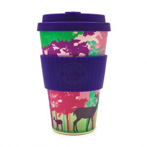 Frankly My Deer 14oz Bamboo Travel Mug