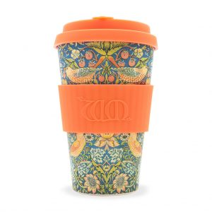 WIlliam Morris Thief 14oz bamboo travel mug