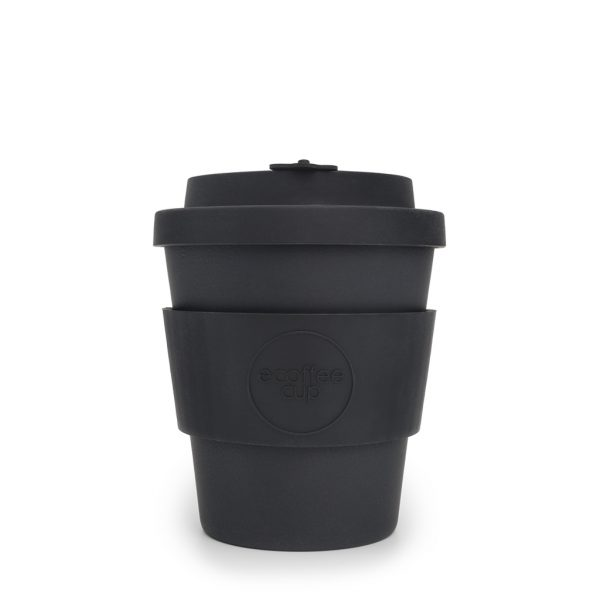 bamboo travel mug 8oz Kerr and Napier Black