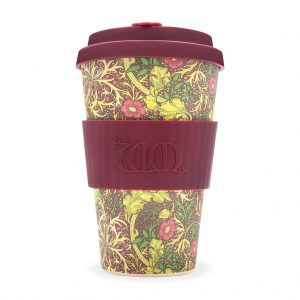 William Morris Seaweed 14oz Bamboo Travel Mug
