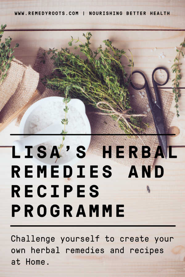 Lisa's herbal remedies and recipes programme