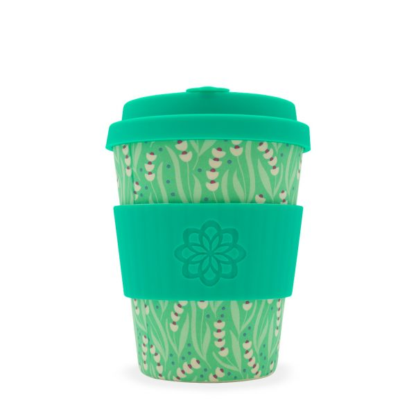 Tiny garden amstel 12oz bamboo travel mug